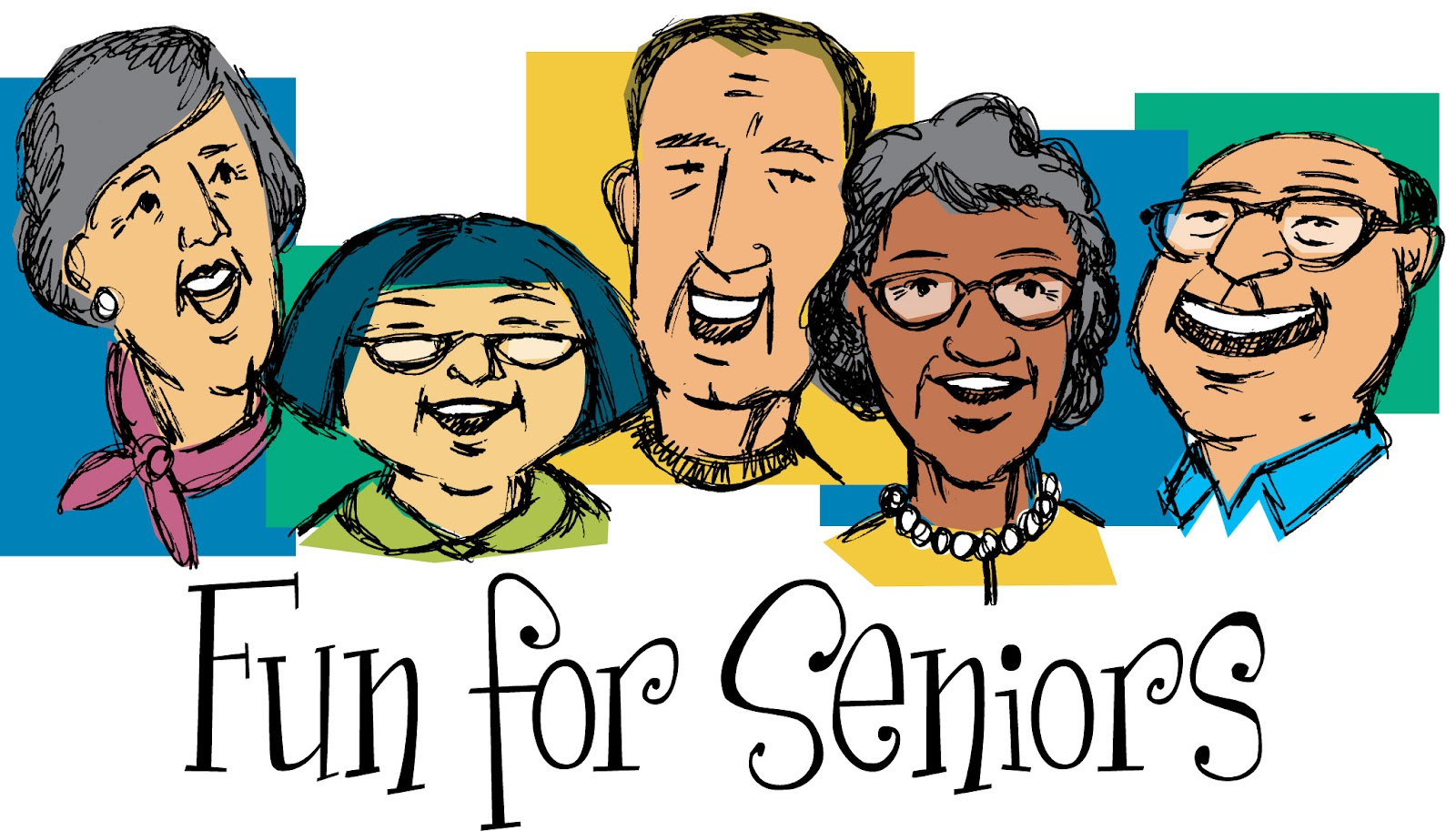 Church senior adult trips clip art