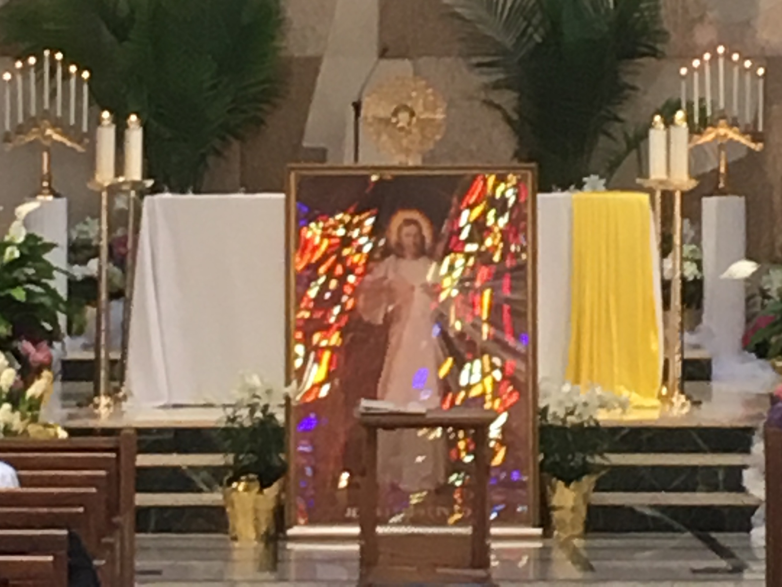 Divine Mercy Sunday-April 8, 2018