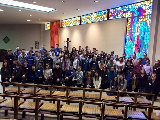 Confirmation Retreat-1/21/18