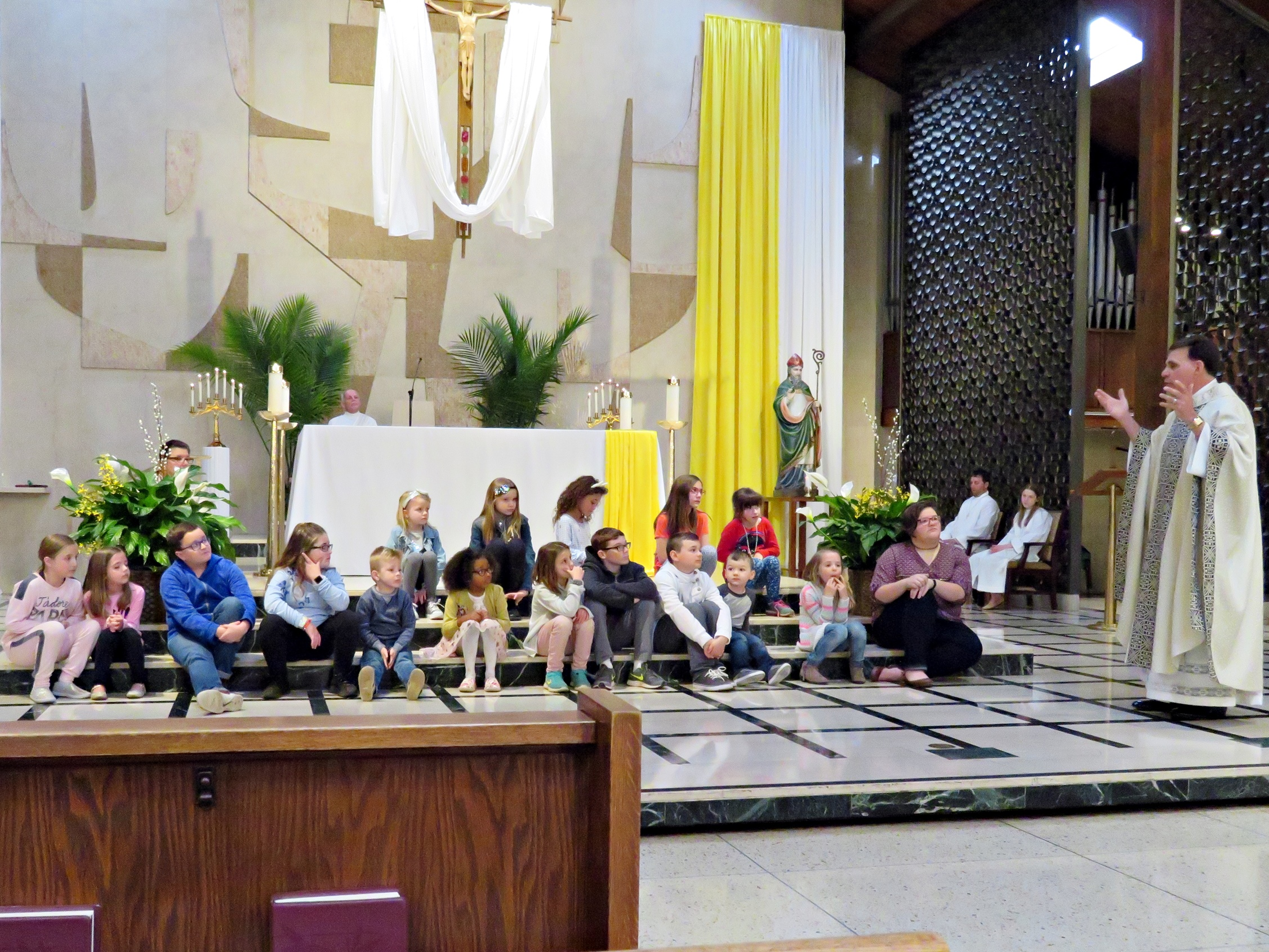 Children's Liturgy of the Word in Church